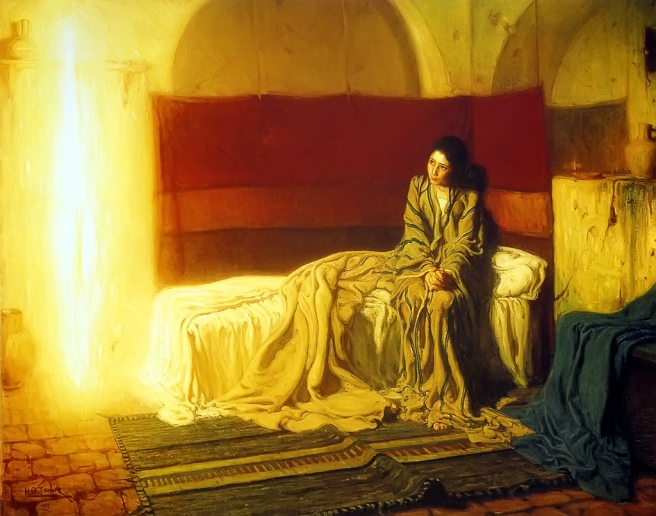 The Annunciation by Henry Ossawa Tanner 1896